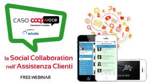 webinar la social collaboration nell'assistenza clienti