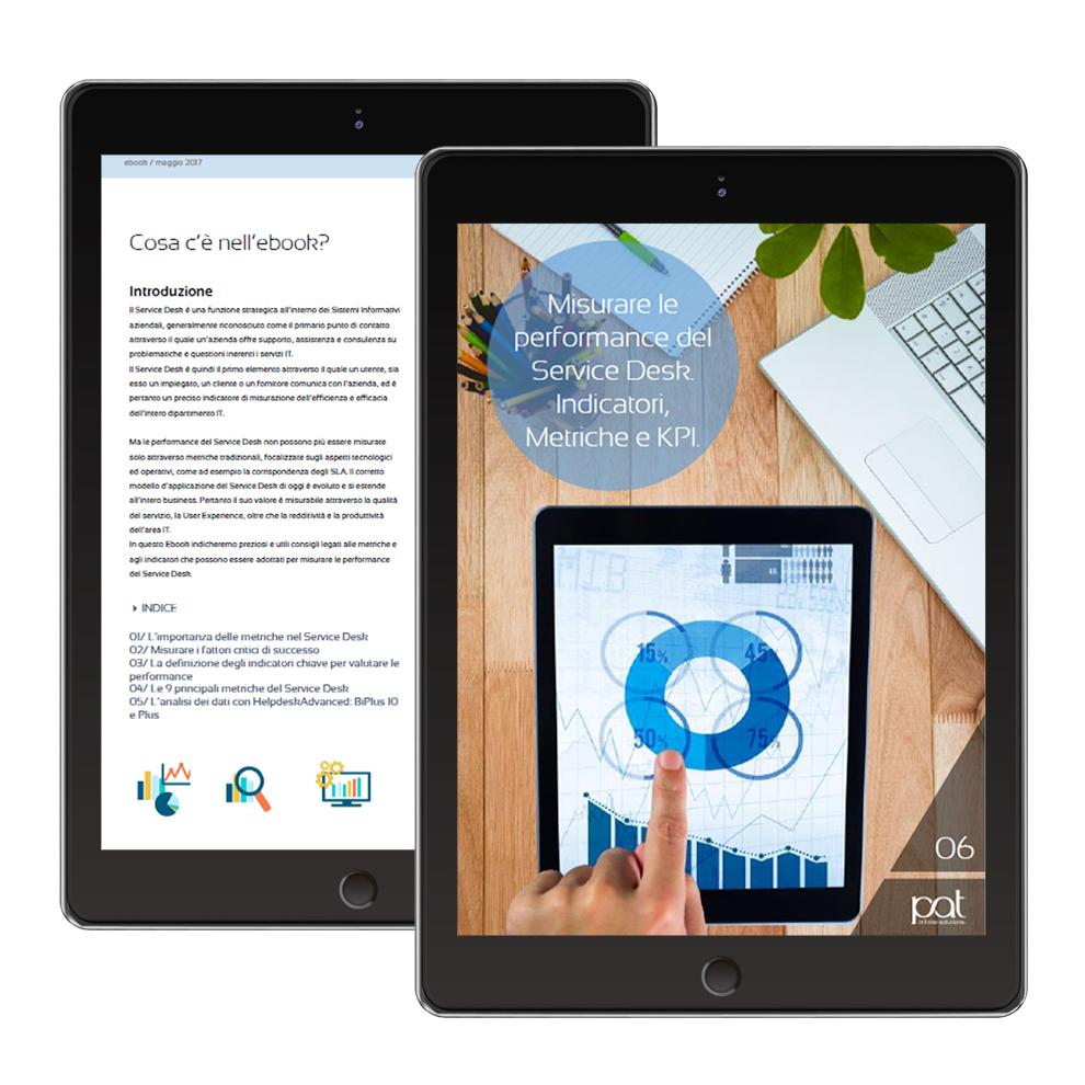 ebook-Misurare le performance del Service Desk. Indicatori, Metriche e KPI-tablet