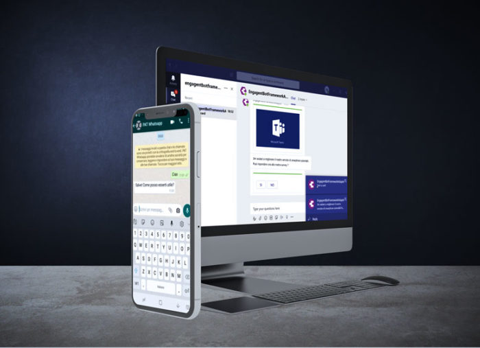 Chatbot for WhatsApp and Microsoft Teams: Automate the support!