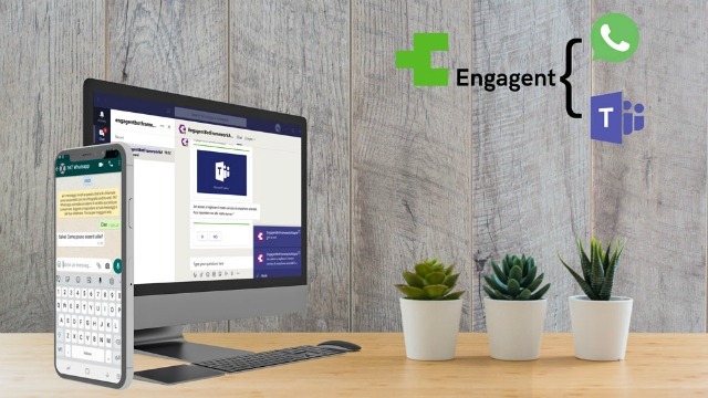 New integrations for Engagent, with Microsoft Teams and WhatsApp