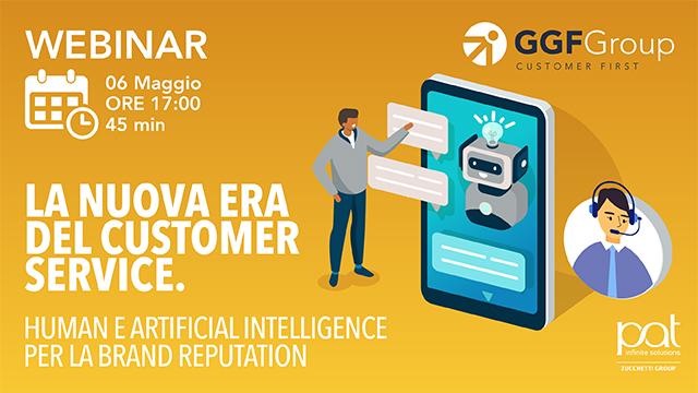 Webinar – La nuova era del Customer Service: Human e Virtual per la brand reputation