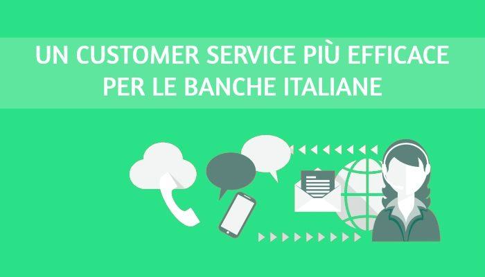 Contact center più digitali per le banche italiane
