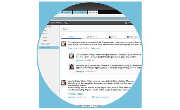 piattaforma di Customer Relationship Management