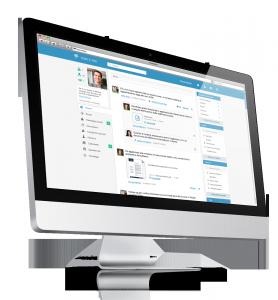 Social intranet